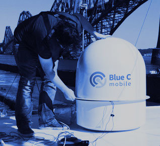 Blue C mobile - Hydra 0.6m KU-band Antenna