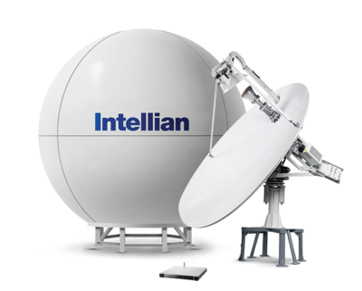 Intellian v240M (Circulair & Linear C-band)