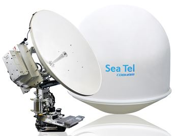 COBHAM SEA TEL 5012-33, LIN, 8W, QUAD, 66 IN.