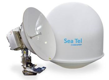 COBHAM SEA TEL 5012-91, LIN, 8W, QUAD, 66 IN. Ethernet M&C