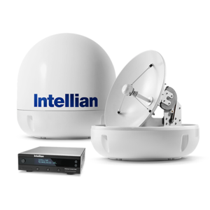 Intellian i6L TVRO antenna for inland vessels